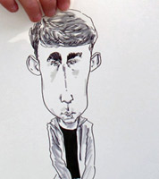 Hire a live caricaturist in Shrewsbury and Shropshire